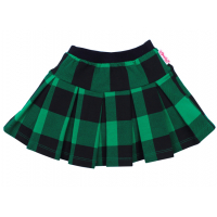 """20-128002 Юбка """"шотландка"""", 2-5 лет, зеленый"""