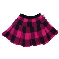 """20-128003 Юбка """"шотландка"""", 2-5 лет, розовый"""