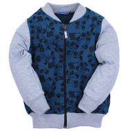 020-12852 Толстовка для мальчика, 3-7 лет, джинсовый