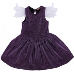 20-13412 Нарядное платье для девочек, 2-6 лет