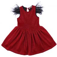 020-13415 Нарядное платье для девочек, 2-6 лет
