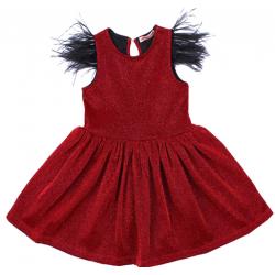 20-13415 Нарядное платье для девочек, 2-6 лет