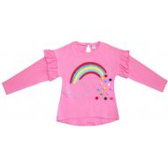 20-13642 Кофта для девочки, супрем, 2-5 лет, розовый