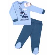 20-2191 Комплект для малыша, 62-80, голубой