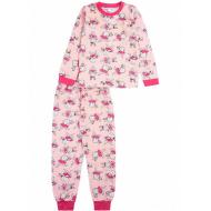 20-3000-3 Пижама для девочки, 2-6 лет, св.розовый