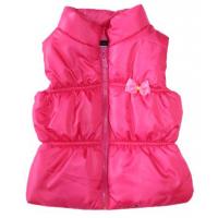 20-3502G Жилет для девочки, 1-4 года, розовый