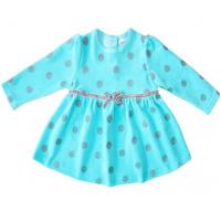 20-3573 Платье велюровое для малышки, 74-92