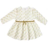 20-3575 Платье велюровое для малышки, 74-92