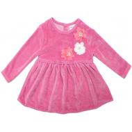 20-3592 Платье велюровое для малышки, 74-92