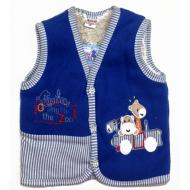 20-41906 Жилет для малышей, поларфлис, 74-86, синий