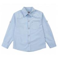 20-82106 Рубашка для мальчика, 2-5 лет, голубой