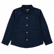 20-82103 Рубашка для мальчика, 2-6 лет, т-синий
