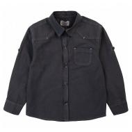 20-82101 Рубашка для мальчика, 2-5 лет, т-серый