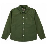 20-82102 Рубашка для мальчика, 2-6 лет, хаки