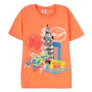 15-8120207 Футболка для девочек, 8-12, персиковый