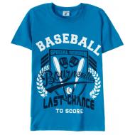 15-8120106-7 Футболка для мальчика, 8-12 лет, синий