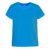 17-0301254 Футболка однотонная, голубой
