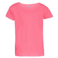 17-0301258 Футболка однотонная, розовый