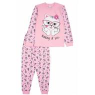 17-13235 Пижама для девочки, 2-5 лет, розовый