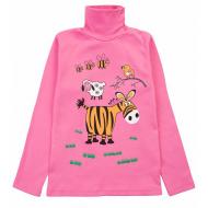 17-2507509 Водолазка для девочки, 2-5 лет, розовый