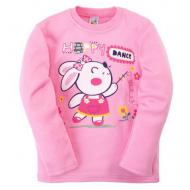 17-251209 Лонгслив для девочки, 1-4 года, розовый