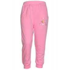 17-2512228 Брюки для девочек с начесом,  2-5 лет, розовый