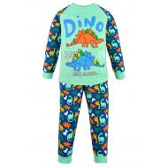 17-2513232 Пижама для мальчика, интерлок, 2-5 лет, мятный