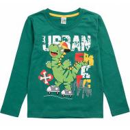 17-2518518 Лонгслив для мальчика, 2-5 лет, зеленый