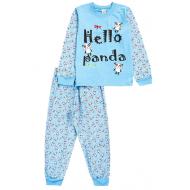 17-251876 Пижама для мальчика, 2-5 лет, голубой