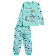 17-251877 Пижама для мальчика, 2-5 лет, мятный