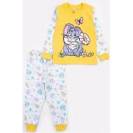 17-251879 Пижама для девочки, 2-5 лет, желтый