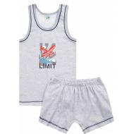 17-36129-0 Комплект для мальчика, 3-6 лет, св-серый
