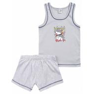 17-36129-1 Комплект для мальчика, 3-6 лет, серый