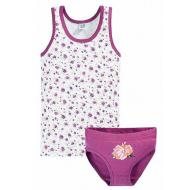 17-361294 Комплект для девочки, 3-6 лет, фиолетовый