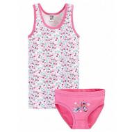 17-371296 Комплект для девочки, 3-6 лет, розовый