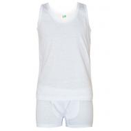 17-37160 Комплект для мальчика, 3-7 лет, белый