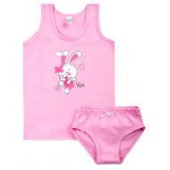 17-3716301 Комплект для девочки, 3-7 лет, св-розовый