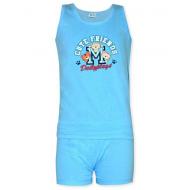 17-3716306 Комплект для мальчика, 3-7 лет, голубой
