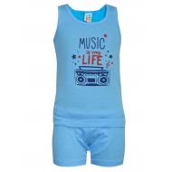 17-3716315 Комплект для мальчика, 3-7 лет, голубой