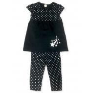 17-482201 Комплект для девочки с бриджами, 4-8 лет