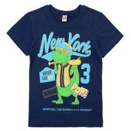17-69001192 Футболка для мальчика, 6-9 лет, синий