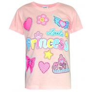 17-69001213 Футболка для девочки, 6-9 лет, персиковый