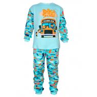 17-69132 Пижама для мальчика, интерлок, 6-9 лет, мятный