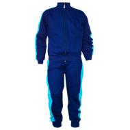 17-7111681 Спортивный костюм для мальчика, 7-11 лет, т-синий