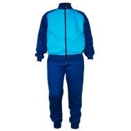 17-7111682 Спортивный костюм с начесом для мальчика, 7-11 лет, голубой
