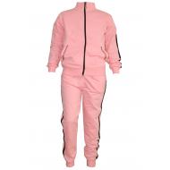 17-711168102 Спортивный костюм для девочки, 7-11 лет, персиковый