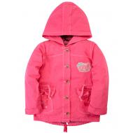 020-83105P Парка для девочки, 6-9 лет, розовый