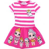 Платье для девочки, 3-7 лет, розовый
