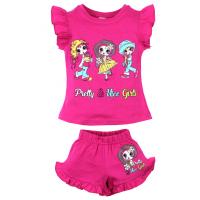 """20-00102 """"Nice Girls"""", костюм для девочки, 1-4 года, малиновый"""