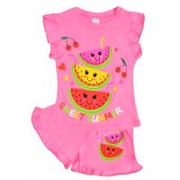 """20-00109 """"Арбузик"""", костюм для девочки, 1-4 года, розовый"""